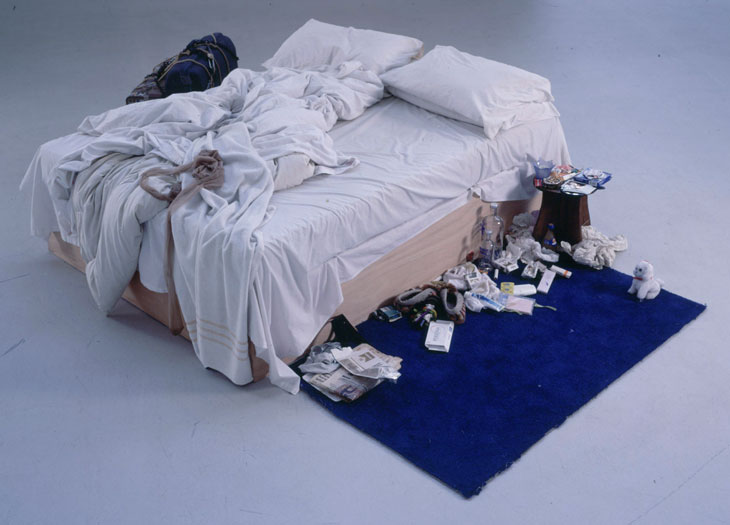 Tracey Emin. My Bed, 1999.